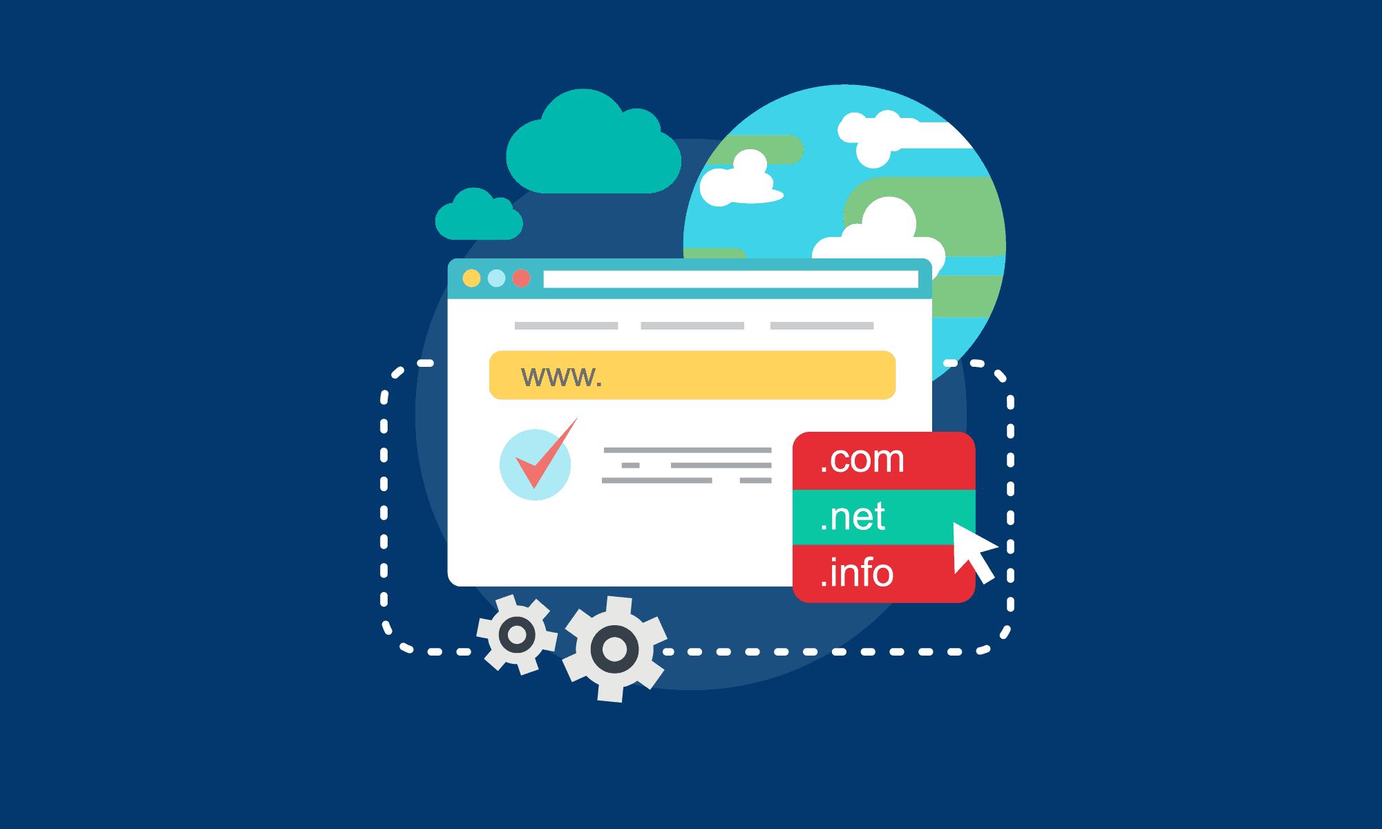 Cara memasang domain baru